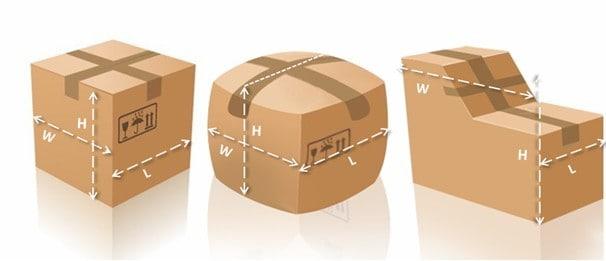 Irregularly Shaped Air freight Shipment